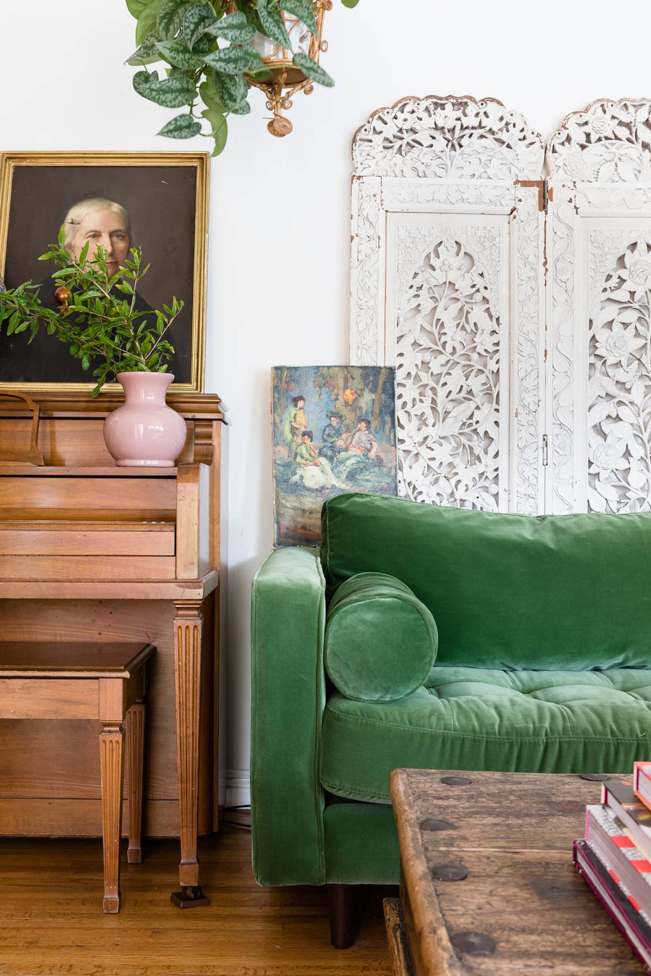 Яркий интерьер и оригинальный декор