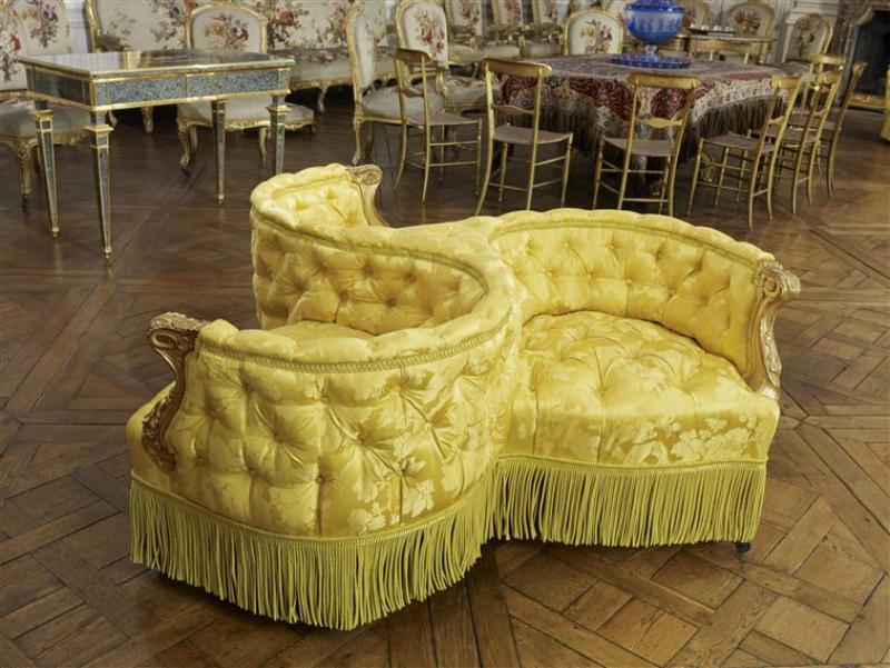 визави диван