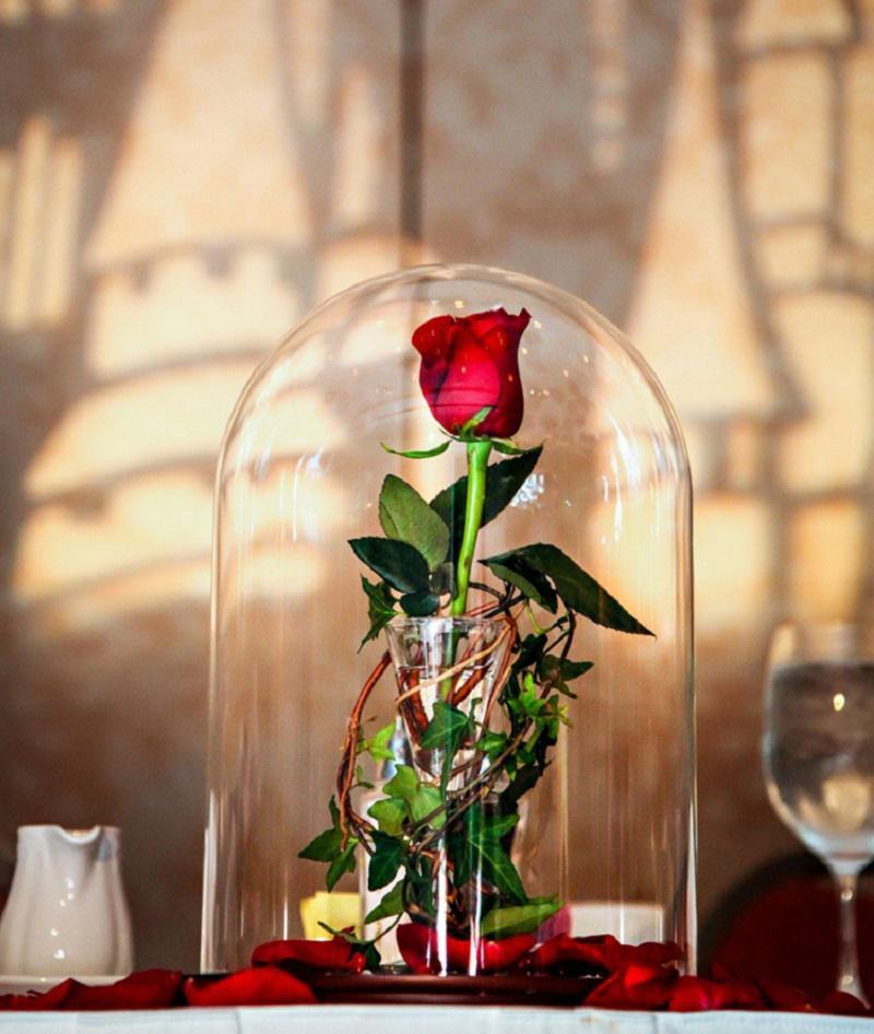 как сделать розу в вакууме