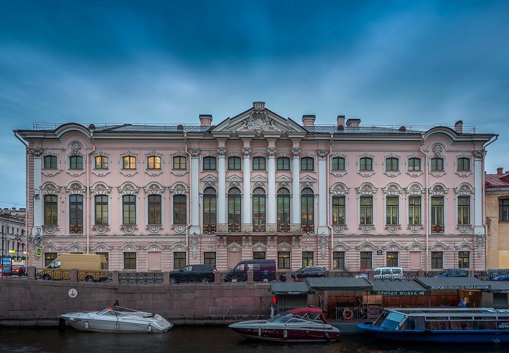 Дворец строгановых картинки
