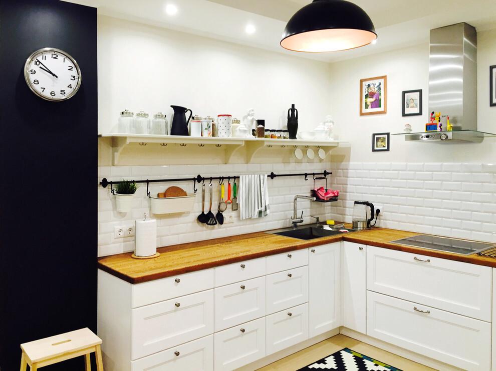 кухни без верхних ящиков фото каждым уровнем