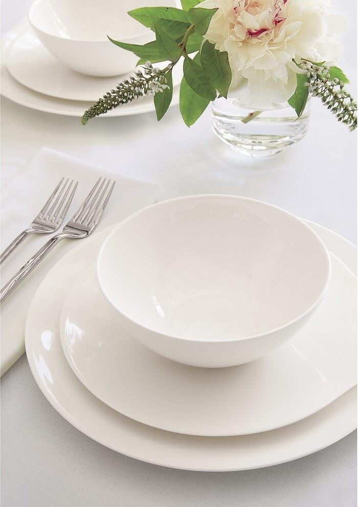 фото белой посуды с едой всего таком случае